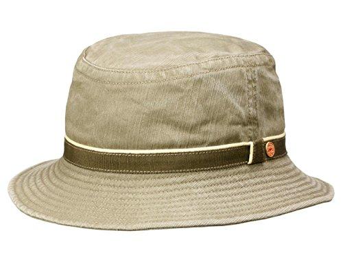 Mayser-Chapper-Bucket-Topfhut-mit-UV-Schutz-Globetrotter-aus-Baumwolle-khaki