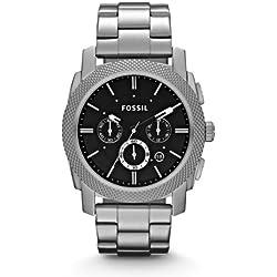 Fossil Men's Quartz Watch Machine FS4776 with Metal Strap