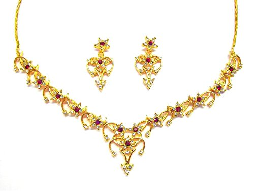 sempre-london-the-royal-designer-piece-schmuckset-halskette-mit-18-kt-gold-vergoldet-rote-rubine-mit