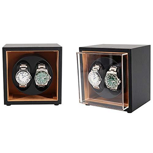 L-life Uhrenbeweger Watch Winder 1 und 2 Uhr-Halter-Anzeigen-automatischer mechanischer Uhrenbeweger (Color : C) -