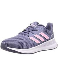Adidas RUNFALCON K, Zapatillas de Trail Running Unisex niño, Multicolor (Indnat/Rosaut/Negbás 000), 32 EU