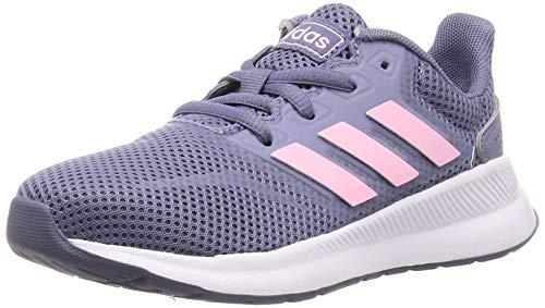 adidas Runfalcon K, Scarpe da Running Unisex Bambini, Blu (Raw Indigo/True Pink/Core Black Raw Indigo/True Pink/Core Black), 36 EU