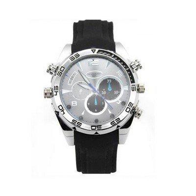 8 Gb Spy Watch (007-Watch 8GB HD 1080P Waterproof Spy Watch Kamera Nachtsicht IR)