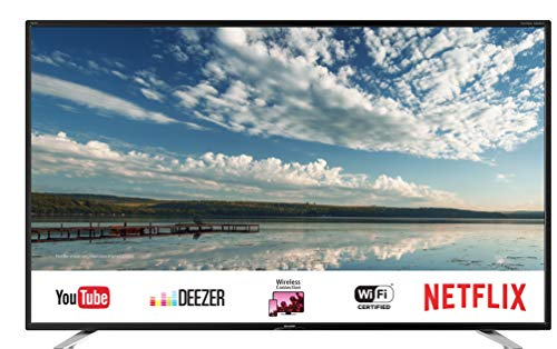 "Sharp AQUOS LC-40FI5442E Smart TV da 40"" Slim Full HD, suono Harman Kardon, SAT Internet WiFI Youtube Netflix 3xHDMI 2xUSB 1xVGA Hotel mode uscita cuffie scart"