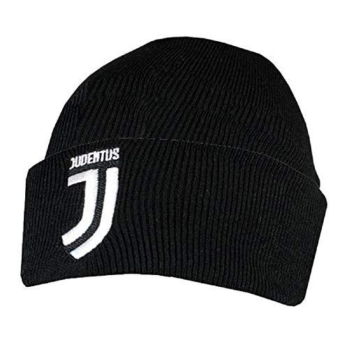 Juventus Turin Strickmütze Manschette Beanie Hut schwarz (Jordan Beanie-mütze)