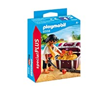 Playmobil 9358 Special Plus Pirate with Treasure Chest