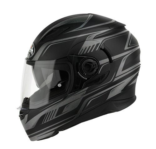 Airoh Casco de movimiento, color Negro (First MattNegro), talla 58-M