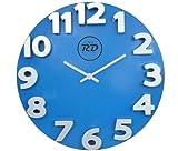 panna RD 3D Wall Clock (Blue)