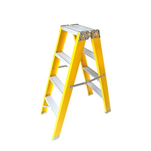 Treppenhocker TH Klappstufen Erweiterungs-Leiter Faltbare Elektriker-Leiter, Haushalt verdicken Leiter-Technik-Leiter (Elektriker Leiter)
