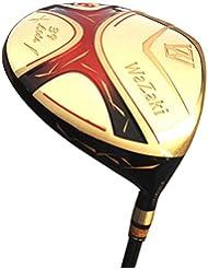 Japon Wazaki Cyclone Titanium 460cc Club de golf Doré Manche en graphite 0degré visage Angle pilote