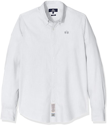 la-martina-man-shirt-l-s-oxford-stretch-chemise-de-loisirs-homme-weiss-optic-white-00001-x-large