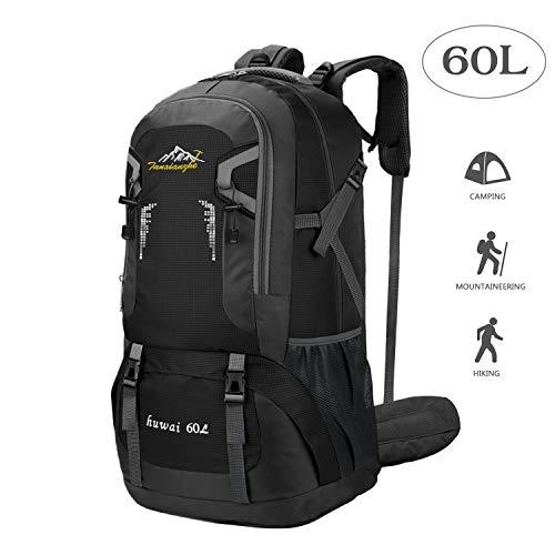 BeGreat 60L Trekkingrucksack, Ultraleicht Wasserdicht Wanderrucksack Backpacker-Rucksack Reiserucksack Bergsteigtasche für Wandern, Bergsteigen, Reisen, Camping, Sport usw.