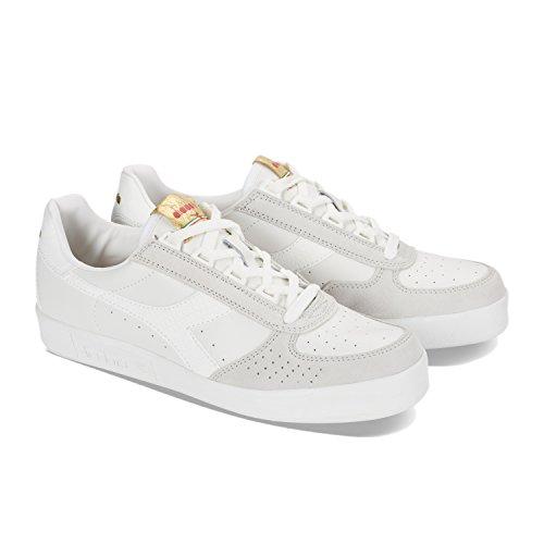 B.elite L Wn - Chaussures De Sport Pour Les Hommes / Diadora Blanc jssGrs