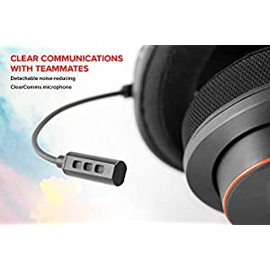CREATIVE Sound BlasterX H6 USB-Gaming-Headset, virtueller 7.1-Surround-Klang, Hardware-EQ-Modi, Ambient Monitoring – kompatibel mit PS4, Xbox One, Nintendo Switch und PC