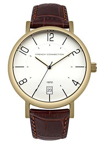 french-connection-orologio-da-uomo-al-quarzo-con-display-analogico-e-cinturino-in-pelle-fc1268tg-col