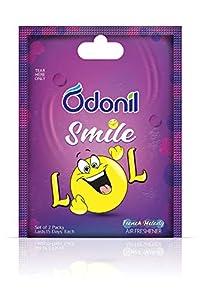 Odonil Smile Bathroom and Car Freshener - 10 g (Lol)