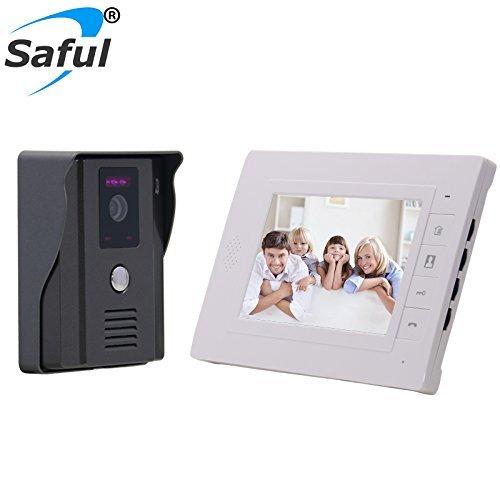 Forecum Wireless Anti-Diebstahl-Sensing Einbrecher Magnetische Alarmanlage für Tür und Fenster mit zwei Fernbedienung für Home / Office Security
