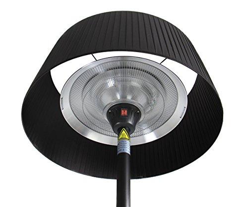 Firefly 2.100 Watt Infrarot-Heizstrahler (Halogen) Terrassenheizung, freistehend, 3 Leistungsstufen, schwarz - 9