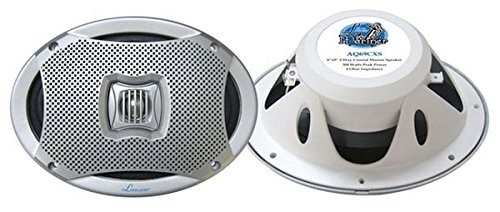 Pyle Marine Lautsprecher (500 Watt, 2-Wege) silber