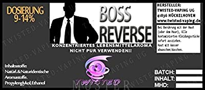 Twisted Aroma Boss Reverse von Twisted Vaping