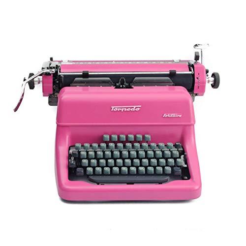 Schreibmaschine pink vintage Deko Rockabilly Hochzeitsdekoration pink