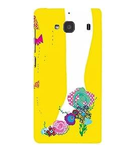 PrintVisa Designer Back Case Cover for Xiaomi Redmi 2 :: Xiaomi Redmi 2S :: Xiaomi Redmi 2 Prime (Ballerina for A Modern Girl)