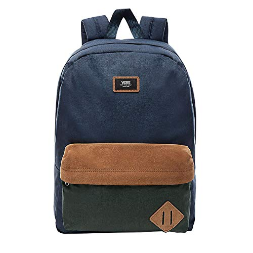 Vans Old Skool Ii Backpack Zaino Casual, 39 cm, 22 liters, Multicolore (GRAPE LEAF-SEQUOIA)