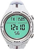 Cressi Sub S.p.A. Goa Ordinateur de Plongée et Horloge Mixte Adulte, Blanc/Noir, Uni