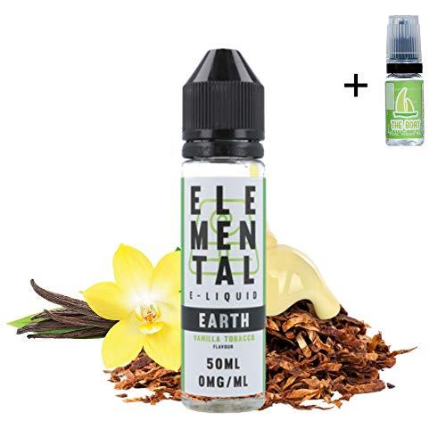 E Liquid Elemental Earth Vanilla Tobacco 50ml - 70vg