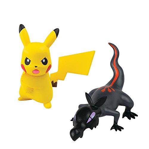 Pokémon – Pikachu Z-Move und Molunk Figuren
