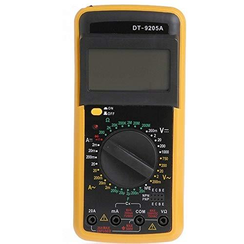ZJN-JN Digital Digital DT-9205A Multimeter LCD AC/DC-Amperemeter Widerstand Kapazität Tester präzise Elektrische Prüfung Spannungsprüfer