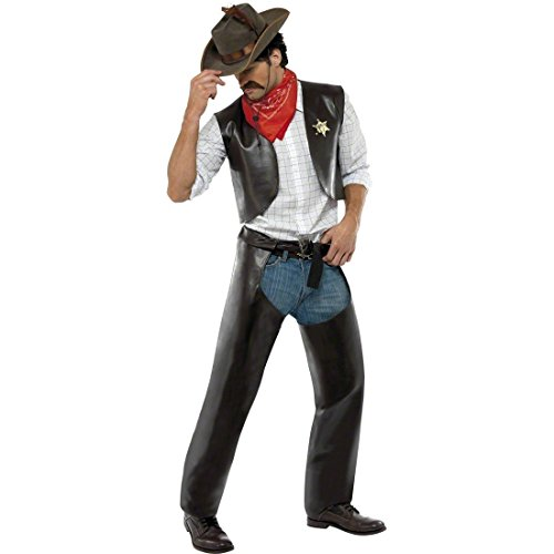 Cowboykostüm Village People Kostüm Outfit Cowboy M (People Village Outfits)