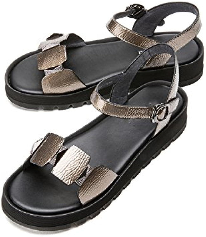 DHG Sandali estivi, Pantofole da donna alla moda, Sandali piatti casual, Sandali con tacco basso a tacco basso... | Meraviglioso  | Uomo/Donne Scarpa