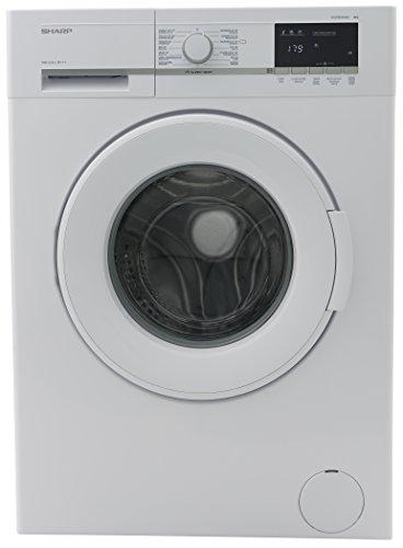 Sharp ES-GFB8143W3-DE Waschmaschine / 8kg / A+++/ 1400UpM/ Schnellwaschgang 15 min/ Aqua Stop/ weiß...