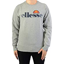 Ellesse SL Succiso Sweatshirt Sweats Homme, Gris (Grey Marl), L