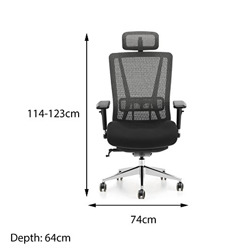 Buy Oseasons® Premium Ergonomic Executive Designer Office Swivel Chair on Amazon