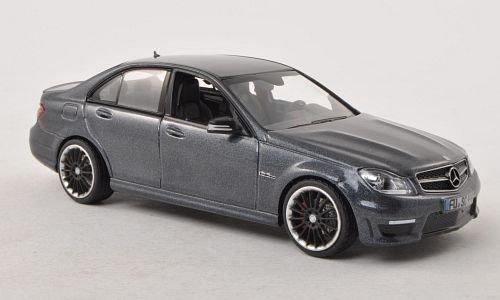 Preisvergleich Produktbild Mercedes C63 AMG, met.-dkl.-grau, Modellauto, Fertigmodell, Schuco 1:43