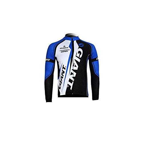 Strgao 2016 Herren Winter Radtrikot Pro Team giant MTB Thermal Langarm Radjacke Radfahren Oberteil (Pro Thermal Tight)