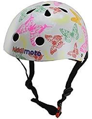Kiddimoto - Butterflies S Casco para niños (KMH048S)
