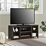 """Mainstay. Parsons Cubby TV Stand Holds Up to 50"""" TV in Espresso Finish"""