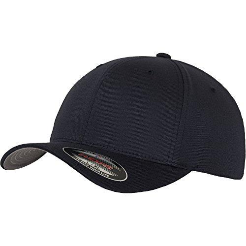 cc603e81f13 Yupoong Mens Flexfit Fitted Baseball Cap (LXL) (Dark Navy)