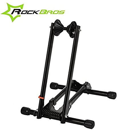 Bazaar ROCKBROS bewegliches doppeltes Pole Fahrradständer Repair Unterstützung Rahmen MTB Rack Ausstellungsstand
