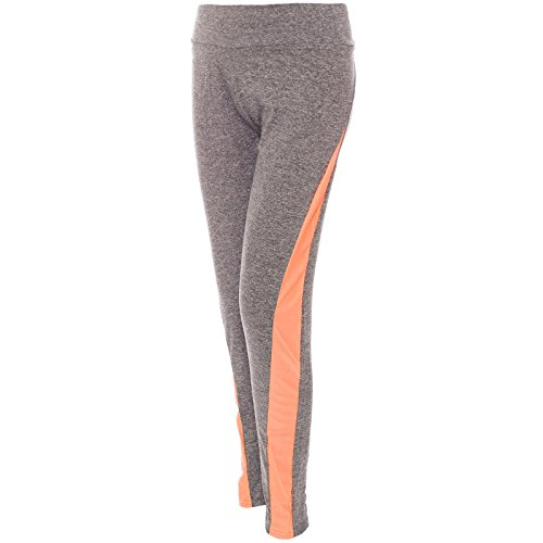 BEZLIT -  Pantaloni sportivi  - Jeggings - Basic - Donna Orange L/XL