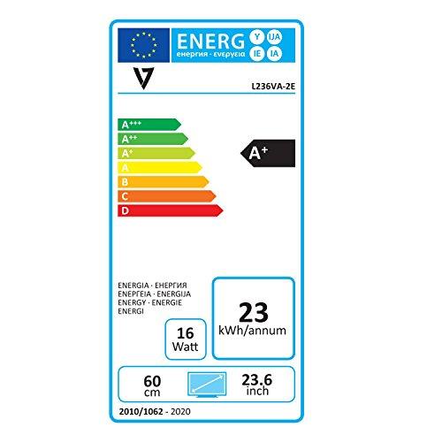 V7 L236VA 2E 24 Class 236 Viewable VA 1080 FHD Widescreen LED Monitor Products