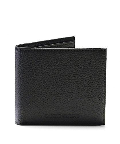 Emporio Armani Billfold Hombre Wallet Negro