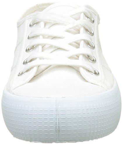 Victoria Lona Gruesa, Baskets Basses Mixte Adulte Blanc (Blanco)
