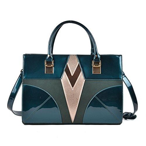 Premium Leather , Sac à main pour femme Bleu