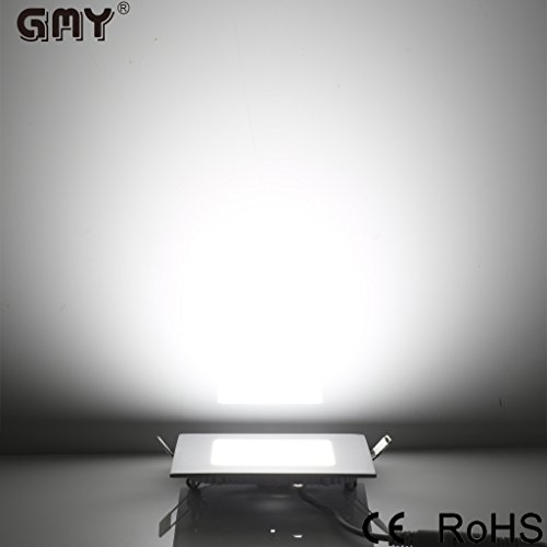 GMY Lighting® Ultrasottile Led Pannello Luce 12cm (4.7