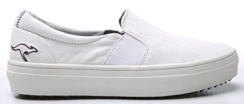 K dei canguri - Mid altopiano 5092 Ladies Sneaker Wht - 42