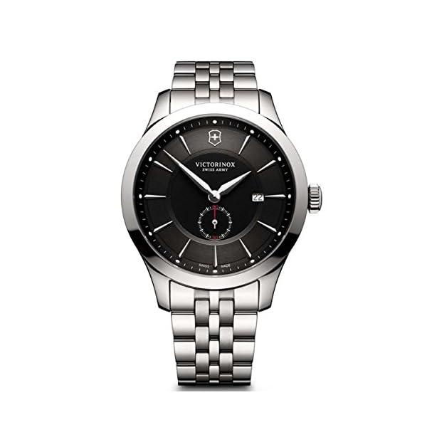 Victorinox Reloj Digital para Hombre de Cuarzo con Correa en Acero Inoxidable